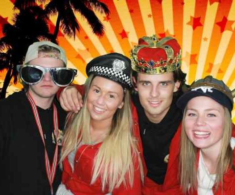 Russepaset russparty med selfieboks photobooth norge