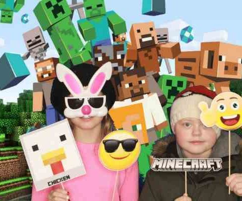 Minecraft photobooth