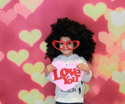 valentines day photobooth
